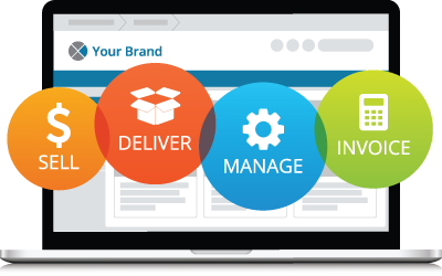 Sell, deliver, manage, and invoice for your brand