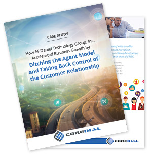 CoreDial Case Study: How AF Daniel Technology Group, Inc. Accelerated Business Growth by Ditching the Agent Model and Taking Back Control of the Customer Relationship