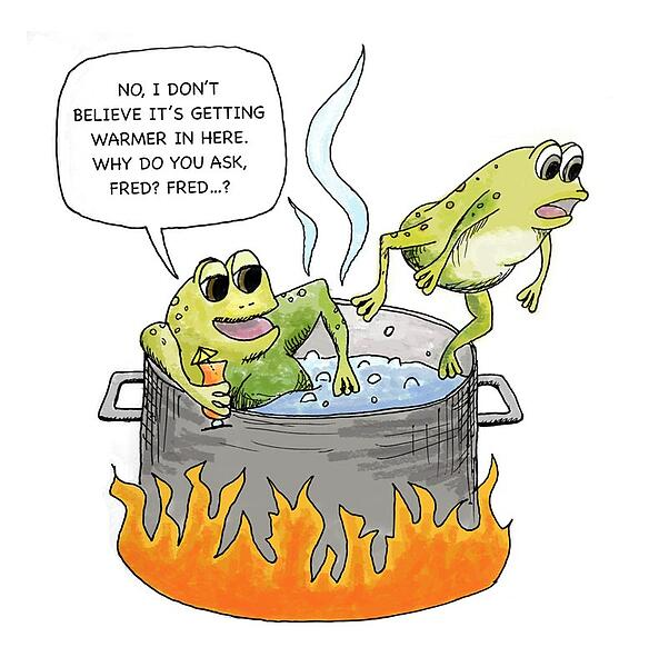 Don't Become a Boiled Frog: Why Now Is the Time to Offer Cloud ...